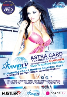 Set: Hustler TV / Dorcel / VIVID TV ASTRA Viaccess Karte inkl. Viaccess Modul