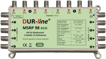 DUR-line MSRP 98 eco - Multischalter