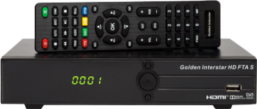 Golden Interstar HD FTA S Receiver